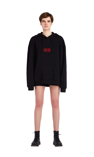 Oversized hoodie SYSTEM 108