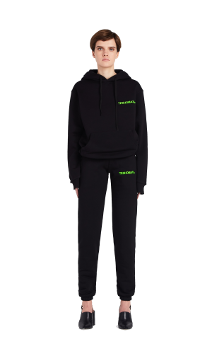 Hoodie with TECHNOMOTHER embroidery