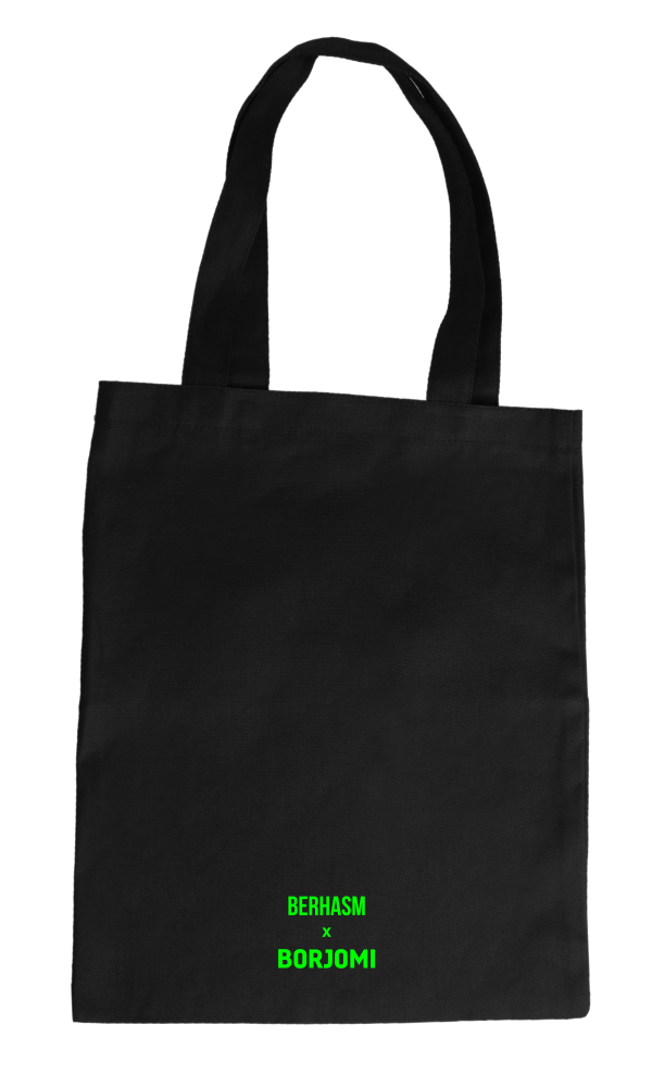 Acid Borjomi tote bag