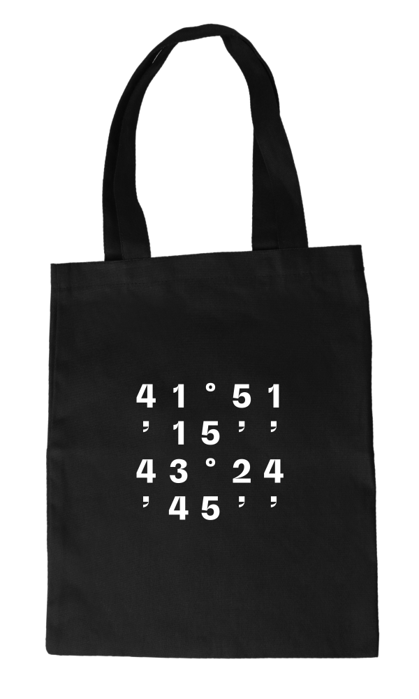 High coordinates tote bag